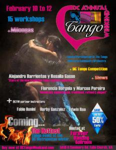 Tango Festival Flier